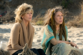 """Jane Fonda and Lily Tomlin in the Netflix Original Series """"Grace and Frankie"""". Photo by Melissa Moseley for Netflix.Ê"""